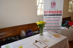Our Table at the Healing Day Nov 2014